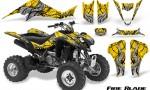 Suzuki LTZ400 03 08 CreatorX Graphics Kit Fire Blade Black Yellow 150x90 - Suzuki LTZ 400 2003-2008 Graphics