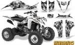 Suzuki LTZ400 03 08 CreatorX Graphics Kit Inferno White 150x90 - Suzuki LTZ 400 2003-2008 Graphics
