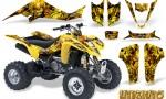 Suzuki LTZ400 03 08 CreatorX Graphics Kit Inferno Yellow 150x90 - Suzuki LTZ 400 2003-2008 Graphics