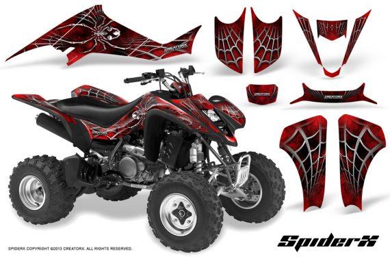 Suzuki LTZ400 03 08 CreatorX Graphics Kit SpiderX Red BB 570x376 - Suzuki LTZ 400 2003-2008 Graphics