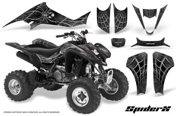 Suzuki LTZ400 03 08 CreatorX Graphics Kit SpiderX Silver 570x376 - Suzuki LTZ 400 2003-2008 Graphics