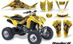 Suzuki LTZ400 03 08 CreatorX Graphics Kit SpiderX Yellow 150x90 - Suzuki LTZ 400 2003-2008 Graphics