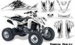 Suzuki LTZ400 03 08 CreatorX Graphics Kit Tribal Bolts White 150x90 - Suzuki LTZ 400 2003-2008 Graphics
