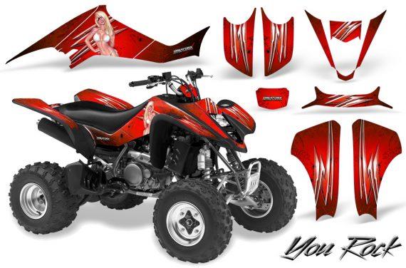 Suzuki LTZ400 03 08 CreatorX Graphics Kit You Rock Red BB 570x376 - Suzuki LTZ 400 2003-2008 Graphics