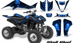 Suzuki LTZ400 03 08 CreatorX Graphics Skull Chief Blue 150x90 - Suzuki LTZ 400 2003-2008 Graphics