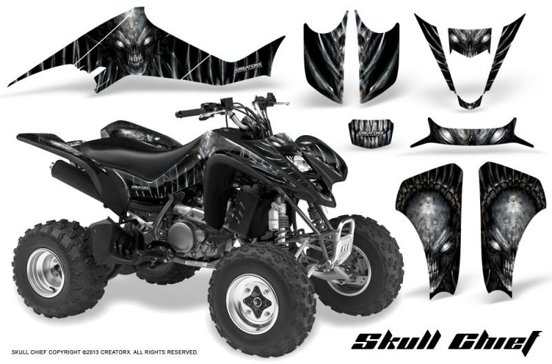 Suzuki-LTZ400-03-08-CreatorX-Graphics-Skull-Chief-Silver