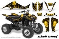 Suzuki-LTZ400-03-08-CreatorX-Graphics-Skull-Chief-Yellow