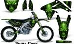 Suzuki RMZ450 08 12 RMZ250 10 12 CreatorX Graphics Kit Skull Chief Green NP Rims 150x90 - Suzuki Dirt Bike Graphics