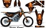 Suzuki RMZ450 08 12 RMZ250 10 12 CreatorX Graphics Kit Skull Chief Orange NP Rims 150x90 - Suzuki Dirt Bike Graphics