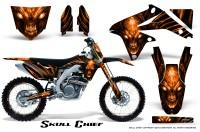 Suzuki-RMZ450-08-12-RMZ250-10-12-CreatorX-Graphics-Kit-Skull-Chief-Orange-NP-Rims