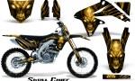 Suzuki RMZ450 08 12 RMZ250 10 12 CreatorX Graphics Kit Skull Chief Yellow NP Rims 150x90 - Suzuki Dirt Bike Graphics