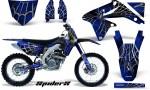 Suzuki RMZ450 08 12 RMZ250 10 12 CreatorX Graphics Kit SpiderX Blue NP Rims 150x90 - Suzuki Dirt Bike Graphics