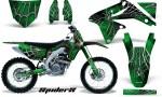 Suzuki RMZ450 08 12 RMZ250 10 12 CreatorX Graphics Kit SpiderX Green NP Rims 150x90 - Suzuki Dirt Bike Graphics