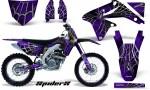 Suzuki RMZ450 08 12 RMZ250 10 12 CreatorX Graphics Kit SpiderX Purple NP Rims 150x90 - Suzuki Dirt Bike Graphics