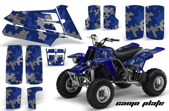 YAMAHA Banshee 350 AMR Graphics CamoPlate Blue JPG 570x376 - Yamaha Banshee 350 Graphics