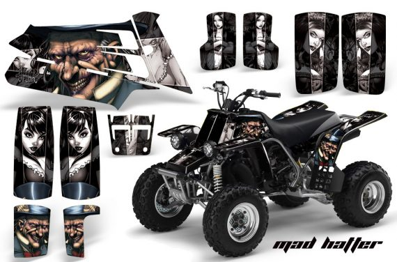 YAMAHA Banshee 350 AMR Graphics MadHatter Black Silverstripe JPG 570x376 - Yamaha Banshee 350 Graphics