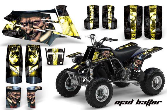 YAMAHA Banshee 350 AMR Graphics MadHatter Black yellowstripe JPG 570x376 - Yamaha Banshee 350 Graphics