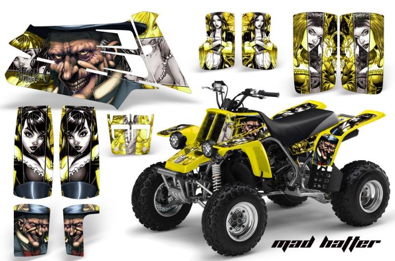 YAMAHA-Banshee-350-AMR-Graphics-MadHatter-Silver-Yellow