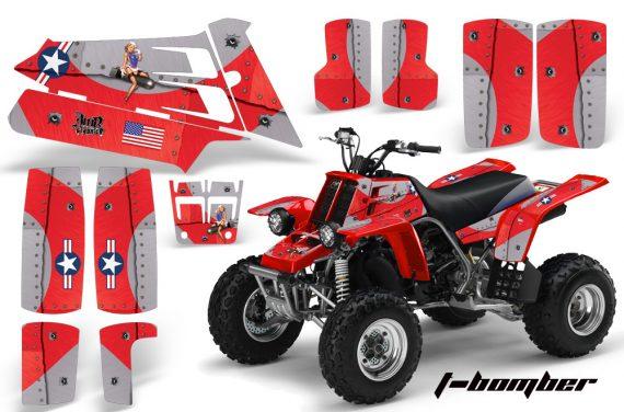 YAMAHA Banshee 350 AMR Graphics TBomber Red JPG 570x376 - Yamaha Banshee 350 Graphics