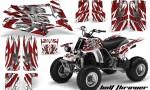 YAMAHA Banshee 350 Bolt Thrower Custom Red White WB 150x90 - Yamaha Banshee 350 Graphics