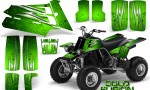 YAMAHA Banshee 350 CreatorX Graphics Kit Cold Fusion Green 150x90 - Yamaha Banshee 350 Graphics