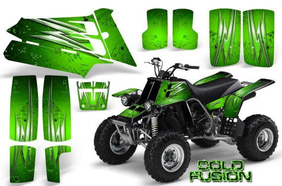 YAMAHA Banshee 350 CreatorX Graphics Kit Cold Fusion Green 570x376 - Yamaha Banshee 350 Graphics