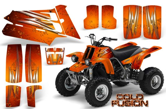YAMAHA Banshee 350 CreatorX Graphics Kit Cold Fusion Orange 570x376 - Yamaha Banshee 350 Graphics