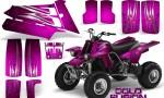 YAMAHA Banshee 350 CreatorX Graphics Kit Cold Fusion Pink 150x90 - Yamaha Banshee 350 Graphics