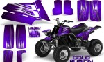 YAMAHA Banshee 350 CreatorX Graphics Kit Cold Fusion Purple 150x90 - Yamaha Banshee 350 Graphics
