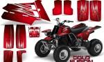 YAMAHA Banshee 350 CreatorX Graphics Kit Cold Fusion Red BB 150x90 - Yamaha Banshee 350 Graphics