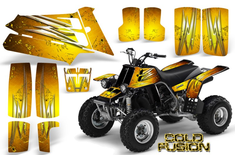 YAMAHA-Banshee-350-CreatorX-Graphics-Kit-Cold-Fusion-Yellow-BB