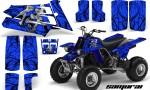 YAMAHA Banshee 350 CreatorX Graphics Kit Samurai Blue 150x90 - Yamaha Banshee 350 Graphics