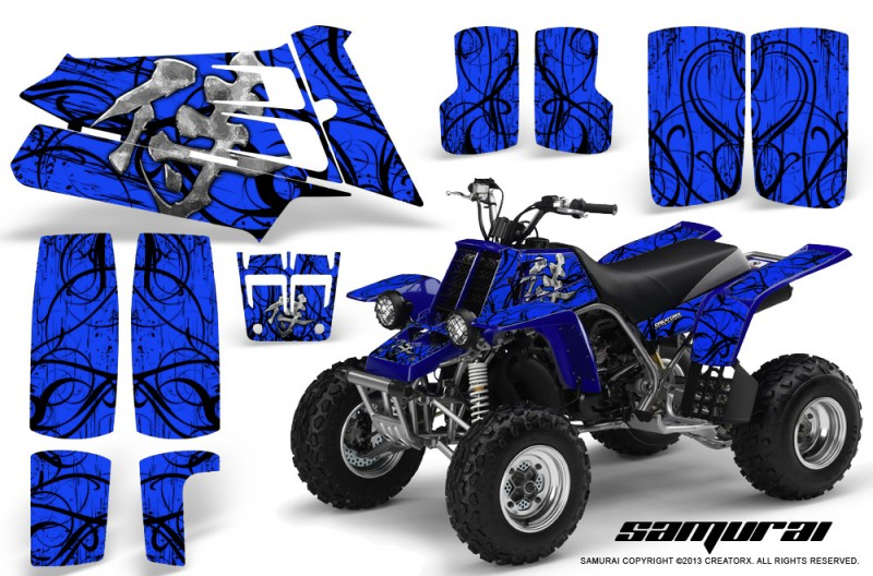YAMAHA-Banshee-350-CreatorX-Graphics-Kit-Samurai-Blue