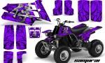 YAMAHA Banshee 350 CreatorX Graphics Kit Samurai Purple 150x90 - Yamaha Banshee 350 Graphics