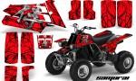 YAMAHA Banshee 350 CreatorX Graphics Kit Samurai Red 150x90 - Yamaha Banshee 350 Graphics