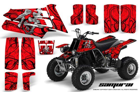 YAMAHA Banshee 350 CreatorX Graphics Kit Samurai Red 570x376 - Yamaha Banshee 350 Graphics