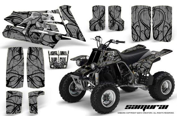 YAMAHA Banshee 350 CreatorX Graphics Kit Samurai Silver 570x376 - Yamaha Banshee 350 Graphics