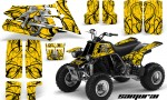YAMAHA Banshee 350 CreatorX Graphics Kit Samurai Yellow BB 150x90 - Yamaha Banshee 350 Graphics