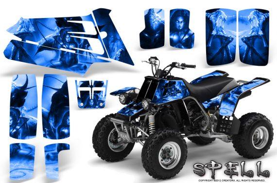 YAMAHA Banshee 350 CreatorX Graphics Kit Spell Blue BB 570x376 - Yamaha Banshee 350 Graphics