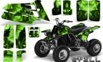 YAMAHA Banshee 350 CreatorX Graphics Kit Spell Green BB 150x90 - Yamaha Banshee 350 Graphics