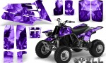 YAMAHA Banshee 350 CreatorX Graphics Kit Spell Purple 150x90 - Yamaha Banshee 350 Graphics