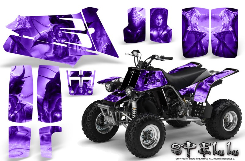 YAMAHA-Banshee-350-CreatorX-Graphics-Kit-Spell-Purple