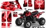 YAMAHA Banshee 350 CreatorX Graphics Kit Spell Red BB 150x90 - Yamaha Banshee 350 Graphics