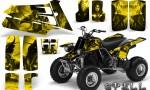 YAMAHA Banshee 350 CreatorX Graphics Kit Spell Yellow BB 150x90 - Yamaha Banshee 350 Graphics