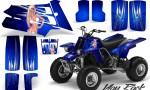 YAMAHA Banshee 350 CreatorX Graphics Kit You Rock Blue 150x90 - Yamaha Banshee 350 Graphics
