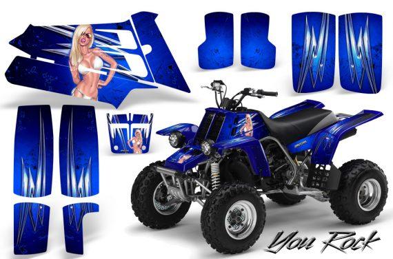 YAMAHA Banshee 350 CreatorX Graphics Kit You Rock Blue 570x376 - Yamaha Banshee 350 Graphics