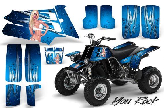 YAMAHA Banshee 350 CreatorX Graphics Kit You Rock BlueIce 570x376 - Yamaha Banshee 350 Graphics