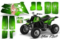 YAMAHA-Banshee-350-CreatorX-Graphics-Kit-You-Rock-Green