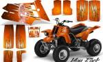 YAMAHA Banshee 350 CreatorX Graphics Kit You Rock Orange 150x90 - Yamaha Banshee 350 Graphics