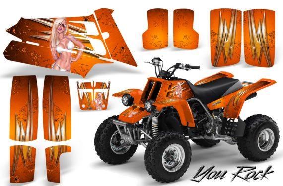 YAMAHA Banshee 350 CreatorX Graphics Kit You Rock Orange 570x376 - Yamaha Banshee 350 Graphics